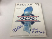 Mike Ditka Buddy Ryan Autographed Super Bowl XX Official Program #5101