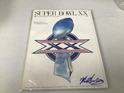 Mike Singletary Autographed Super Bowl XX Official Program #5099