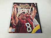 Steve Young 1995 Autographed Sports Illustrated COA #5112