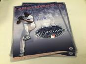 Carlos Marmol Autographed 11x14 All Star Game photo COA#5109