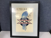 Jim McMahon Autographed Framed Chicago Bears Super Bowl XX Program Cover #5115