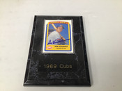 Don Kessinger Chicago Cubs Autographed Card w/Plaque #5114