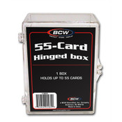BCW Hinged Trading Card Box - 55 Count