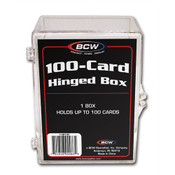 BCW Hinged Trading Card Box - 100 Count