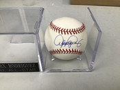 Alex Rodriguez Autographed ORML Baseball W/Holder #5152