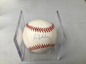 Greg Maddux Autographed Official National League Baseball W/Holder #5157