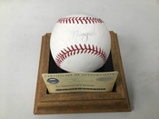 AJ Pierzynski Autographed ORML Baseball Inscribed  W/Holder COA #5158