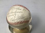 Bob Feller Autographed Baseball W/Holder #5167