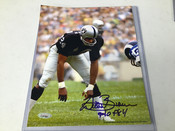 Willie Brown Autographed 8x10 COA #5177
