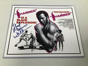 "Fred Williamson ""The Hammer"" Autographed 8x10 #5182"