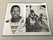 Scottie Pippen Autographed 8x10 Photo #5183