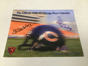 Ed McCaskey Virginia Autographed 1998-99 Chicago Bears Program #5184
