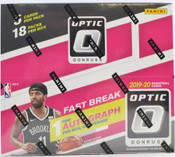 2019/20 Panini Donruss Optic Basketball Fast Break 20 Box Case