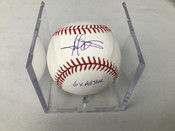 Harold Baines Autographed Baseball Inscribed 6x All Star W/Holder #5193