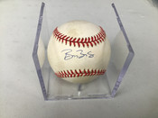 Barry Bonds Autographed Baseball W/Holder #5192