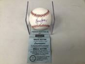 Bruce Sutter Autographed Baseball W/Holder Mounted Memories COA #5197