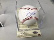 Miguel Sano Autographed Baseball ONYX COA W/Holder #5212
