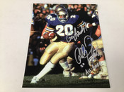 Allen Pickett Autographed 8x10 Inscribed 2x All American #5223