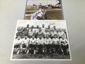 Bob Feller Cleveland Indians Autographed 8x10 (x2) #5241