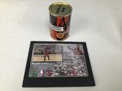 "1998 Upper Deck Michael Jordan 5x7 ""The Shot"" Premier Replays Card + Final Shot Can Chicago Bulls #5249"