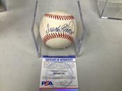 Frank Robinson PSA COA Autographed Baseball W/Holder #5268