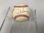 Al Kaline Detroit Tigers Autographed Baseball W/Holder #5291