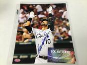 Alexi Ramirez Chicago White Sox Autographed 8x10 BCK COA #5341