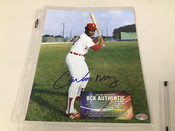 Carlos May Chicago White Sox Autographed 8x10 #5349