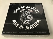 Sons Of Anarchy Men Of Mathem Board Game NEW #5338