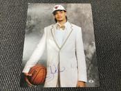 Joakim Noah Chicago Bulls Autographed 16x20 Draft Photo Beckett COA #5351