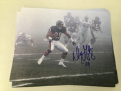 "Dennis Gentry ""The Fog Bowl"" Chicago Bears Autographed 8x10 #5359"