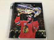 Bryan Bickell Chicago Blackhawks Autographed 8x10 BCK Authentic #5365