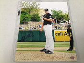 Addison Reed Chicago White Sox Autographed 8x10 BCK Authentic #5380