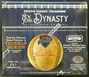 2020 Tristar Autographed Baseball NY Dynasty Edition Box