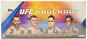 2020 Topps UFC Knockout Hobby Box