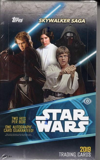 2019 Topps Star Wars Skywalker Saga Hobby Box The Baseball Card King Inc
