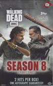 2018 Topps The Walking Dead Season 8 Hobby Box