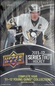 2011/12 Upper Deck Series 2 Hockey Hobby Box
