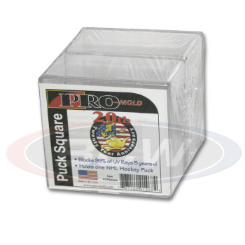 Pro Mold Puck Square Uv 2 Pack The Baseball Card King Inc