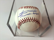 Minnie Minoso (Chicago White Sox) Autographed Official Major League Baseball