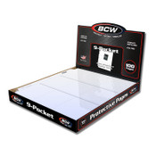 BCW Pro 9 Pocket Pages - 10/100ct. Case