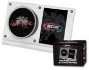 BCW Puck & Card Holder