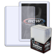 BCW 3x4 Topload Card Holder - Standard 40 Pack Case