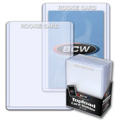 BCW 3 X 4 Topload Card Holder Rookie Imprinted White 40 Pack Case