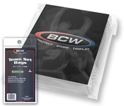 BCW Resealable Team Set Bags 100/100ct. Case