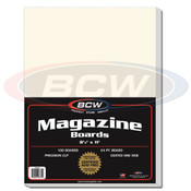 BCW Magazine Backing Boards Case of 10
