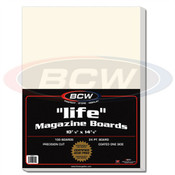 BCW Life Magazine Backing Boards Case of 5