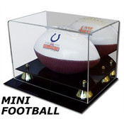 BCW Acrylic Mini Football Display AD28 - With Mirror