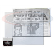 BCW Newspaper Bags 13 3/8 X 11 7/8 Case of 10 Packs