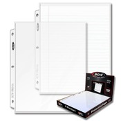 BCW Pro 1 Pocket Page (100ct) Box 8.5 X 11
